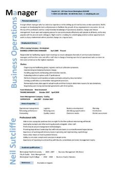 business operations executive resume example executive resume