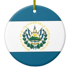 El Salvador Double-Sided Ceramic Round Christmas Ornament http://www.zazzle.com/el_salvador_double_sided_ceramic_round_christmas_ornament-175096362192822502?rf=238756979555966366&tc=PtMPrssLaOrnament FLAG ORNAMENTS: Holiday Flag Ornaments for your Christmas Tree, Holiday Decor, or Holiday gifting. Choose from several International Flag Ornament styles and share your national flag with friends and family. See more at http://www.FlagSwag.com