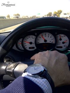 One of our fans driving on the 101 highway California, wearing an Amsterdam - www.fromanteel.nl