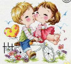Counted Cross Stitch kit the Japanese Bride and Groom Wedding Craft Kit Embroidery Kits, Cross Stitch Embroidery, Cross Stitch Patterns, Cross Stitch Love, Counted Cross Stitch Kits, Cactus E Suculentas, Cartoon Styles, Cross Stitching, Needlework