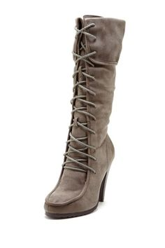 MTNG Originals and SixtySeven Lace Up Tall Dress Boot