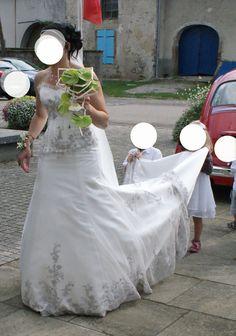 robe de mariée lise saint germain - Vosges