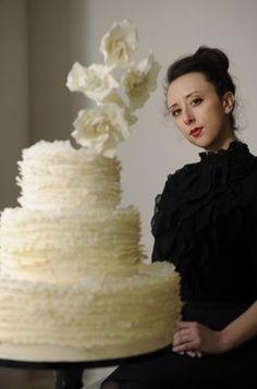 Maggie Austin, former ballerina, graduate of the prestigious L'art de la Pâtisserie program at the French Pastry School, now cake maker