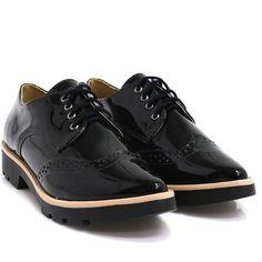 Sapato Zariff Shoes Oxford Preto   Zariff