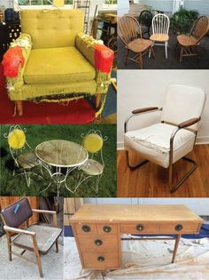 30 Ways To Repair, Restore, Or Redo Any Piece Of Furniture - Apartment Therapy. I'll be looking at this later!