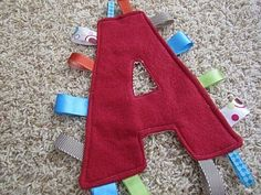 Monogram Tag Blanket ~ Be Different...Act Normal