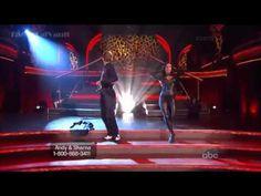 Andy Dick and Sharna Burgess - Cha Cha Cha - Dancing with the Stars Season 16 - Prom Week 3