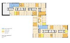 Google Headquarters Floor Plan | Google Office,Tel Aviv / Google / Office / Architecture - Technology ...