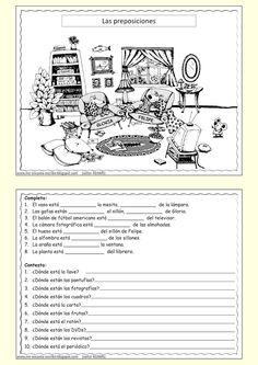 Vocabulario de los muebles de la casa: ProfeDeELE.es