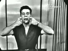 Jack Lalanne Face Workout 5 of 30 - YouTube