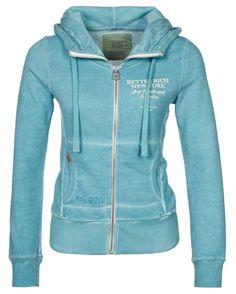 Sweat zippé Better Rich SHELBY turquoise prix promo Zalando 150,00 € TTC