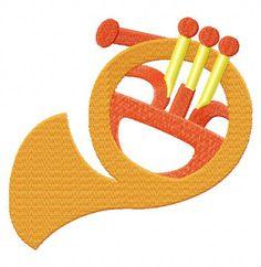 Music Instrument-2 EmbroiderOcean Design