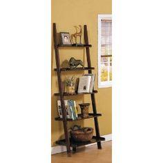 ladder shelf option