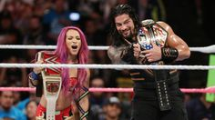 Raw 10/10/16: Roman Reigns & Sasha Banks vs. Rusev & Charlotte