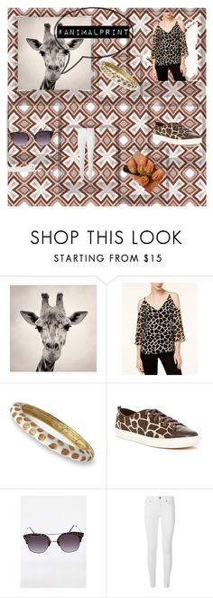 """Giraffe Print"" by people-are-annoying ❤ liked on Polyvore featuring Polaroid, Kate Spade, Bar III, Kenneth Jay Lane, Cole Haan, Ashley Stewart and Burberry"