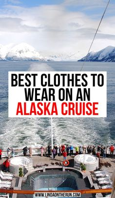 The Perfect Alaska Cruise Packing List For Any Time Of Year - Linda On The Run Best clothes to wear on an Alaska Cruise Packing For Alaska, Alaska Cruise Tips, Packing Tips For Vacation, Alaska Travel, Canada Travel, Alaska Trip, Packing Lists, Europe Packing, Traveling Europe