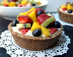 Raw Fruit Tartlet - The Simple Veganista