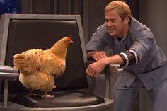 Chris Hemsworth - SNL Chicken