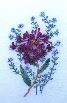 I ❤ brazilian embroidery . . . Brazilian Embroidery ~By Rosalie Wakefield