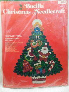 Vintage Bucilla Christmas Needlecraft Kit 2120 by Beadgarden55   $20