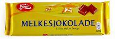 Freia Melkesjokolade is a Milk Chocolate bat from the Norwegian chocolate brand Freia. No doubt the best chocolate in the world!!