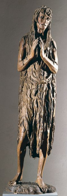 Penitent Mary Magdalene/Donatello/1455 CE/Early Renaissance