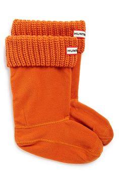Hunter Cardigan Knit Cuff Welly Socks (Walker, Toddler, Little Kid & Big Kid)