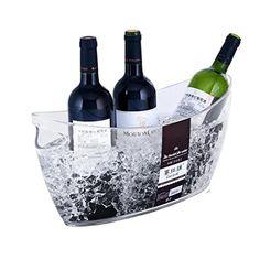 Wine Cellars - Skmei C est La Vie Clear Polystyrene Drinks Pail Wine Bucket Ice Bucket Large >>> Visit the image link more details. Wine Bucket, Wine Chillers, Information, More, Wine Cellar, Make It Simple, Barware, Image Link, Canning
