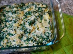 Spinach Artichoke White Bean Dip - so light and creamy because of the beans, yet still so cheesy. Perfect substitution to the high-cal, high fat restaurant version! I at them with homemade whole wheat pita chips.