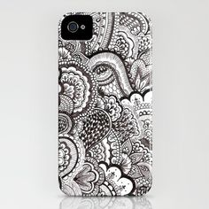 henna iphone case. NEED.