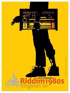 Riddim 1980s Roland TR-808