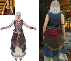 Keira Costume The Handmade Witcher 3 Cosplay Metz Wild Female