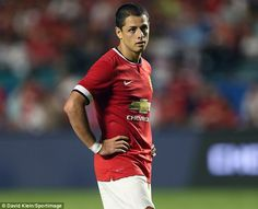 Heading for the exit: Javier Hernandez has been told he can leave Manchester United...