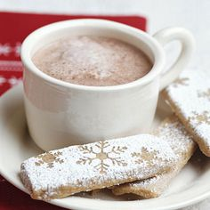 Our Timberline Hot Chocolate is decadent and bittersweet! Find the full recipe here: http://www.bhg.com/recipes/drinks/seasonal/winter-drink-recipes/?socsrc=bhgpin092114timberlinehotchocolate&page=12
