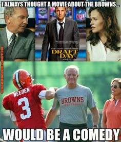 Cleveland Browns Memes Draft Day Poster
