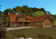 Haven Cove - Log Homes, Cabins and Log Home Floor Plans - Wisconsin Log Homes