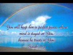 God will keep him in perfect peace - Google Search