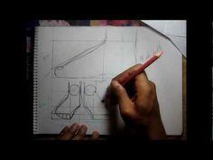 Curso de dibujo a lápiz cap. 16 (Pies)