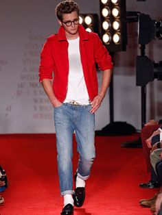 NY Fashion Week: spring/summer 2012 ... Apparently, the James Dean look is always in fashion.