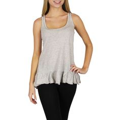 I found this amazing 8-Pack: Loose-Fit High-Low Tank Tops with Ruffle Hem at nomorerack.com for 76% off.
