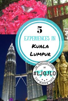 Kuala Lumpur is the capital of Malaysia. There are so many incredible things to do in Kuala Lumpur, but these are our 5 favorite things to do in Kuala Lumpur. Make sure you check out these activities in Kuala Lumpur and save them to your travel board so y Travel Articles, Travel Advice, Travel Photos, Travel Tips, Travel Guides, Malaysia Travel Guide, Batu Caves, Adventures Abroad, Ultimate Travel