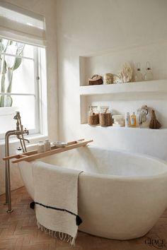 Home Interior Inspiration .Home Interior Inspiration Bad Inspiration, Bathroom Inspiration, Home Decor Inspiration, Bathroom Ideas, Bathroom Goals, Earthy Bathroom, Colorful Bathroom, Neutral Bathroom, Decor Ideas