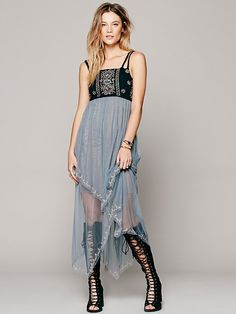 Intimately Bohemian Rhapsody Slip at Free People Clothing Boutique