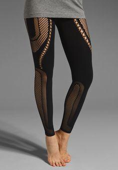 MCQ ALEXANDER MCQUEEN Mesh Legging in Black at Revolve Clothing - Free Shipping!