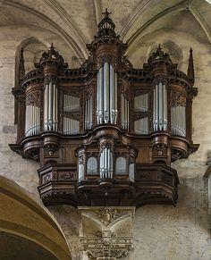 Orgue de tribune - Cathédrale Saint-Étienne de Toulouse (Haute Garonne)