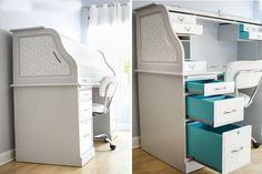 14 Furniture Makeover Ideas for Upgrading Free Craigslist Finds via Brit + Co