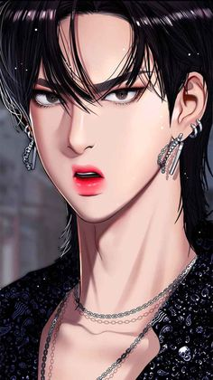 Angel Aesthetic, Aesthetic Anime, Girl Cartoon, Cartoon Art, K Wallpaper, Webtoon Comics, Handsome Anime Guys, Comic Character, True Beauty