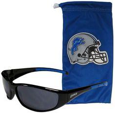Detroit Lions Sunglass and Bag Set