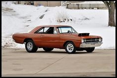 1968 Dodge Hemi Dart Lightweight Sold New at Grand-Spaulding Dodge ( Dodge Dart Demon, Dodge Hemi, Dodge Muscle Cars, Pony Car, Sweet Cars, Drag Cars, American Muscle Cars, Car Humor, Hot Cars