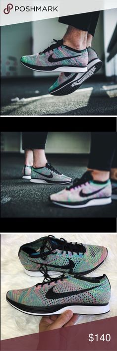 🎈 Nike Flyknit Racer BRAND NEW- ORGINAL BOX NO LID 📦 SHOES SIZE 4.5 MENS = 6 WOMENS.                                  📦 SHOES SIZE 5 MENS = 6.5WOMENS.                                📦 SHOES SIZE 10.5 MENS = 12 WOMENS.                              ✅NEXT DAY SHIPPING ✅BUNDLES DISCOUNT               SIZES LISTED BELOW ARE IN WOMENS SIZE Nike Shoes Athletic Shoes